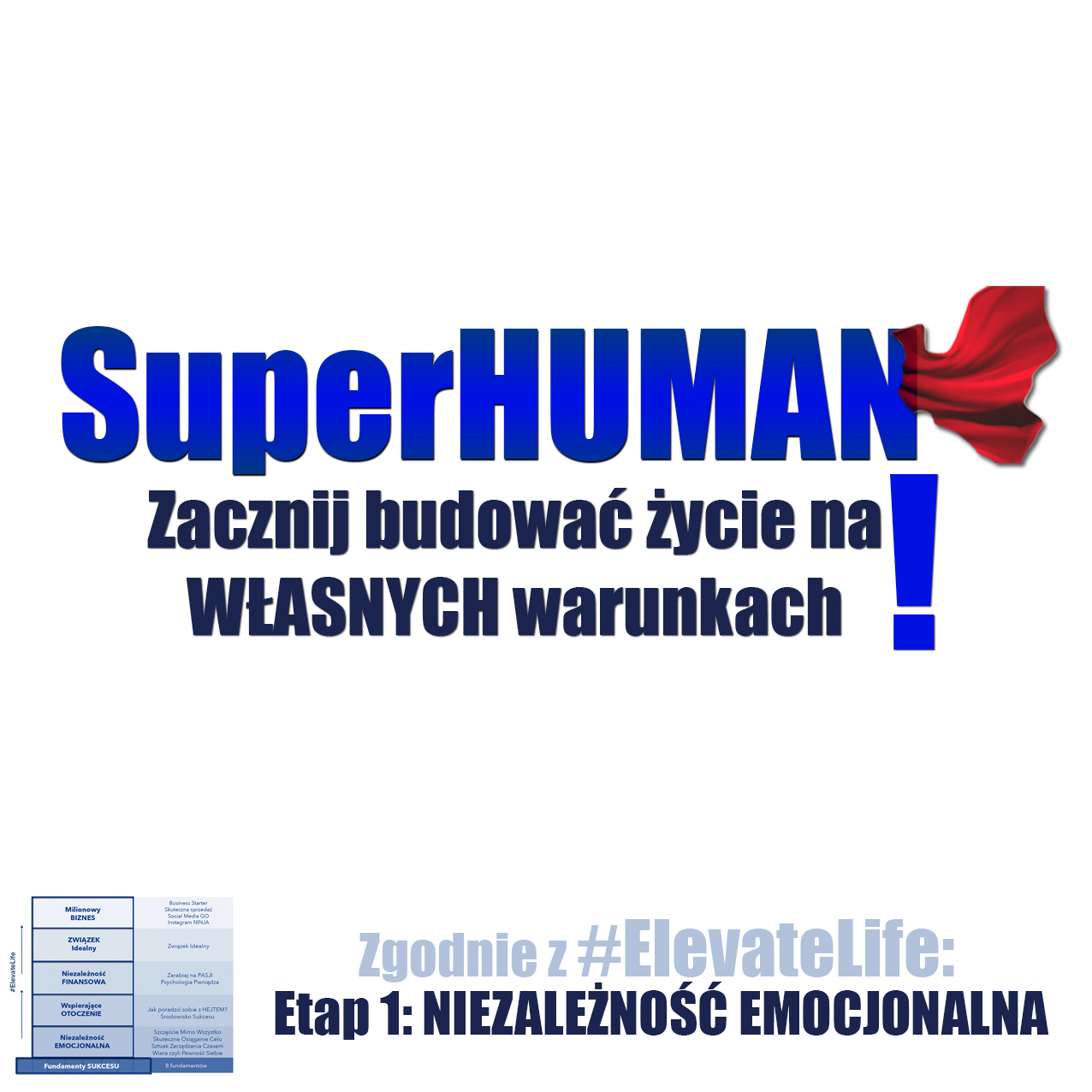 SuperHUMAN logo eventy